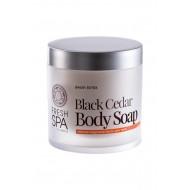 Natura Siberica Bania Detox – Černé tělové mýdlo «Cedrové» 400 ml