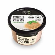 Organic Shop Koupelový cukrový peeling s mořskou solí, 250 ml