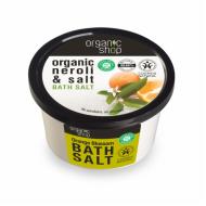 Organic Shop Sůl do koupele Pomerančové květy, 250 ml